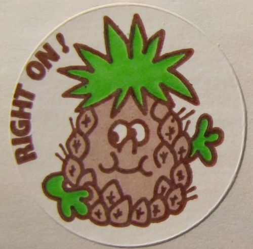 Vintage Trend MATTE Scratch /& Sniff Sticker Mint!! Print Out