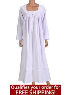 f9716ddc90 Eileen West Fairytale Flannel Nightgown