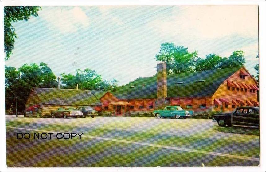 Bronco Charlie S Log Cabin Restaurant Oakdale Ny
