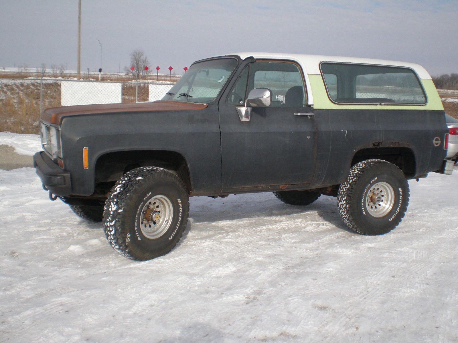 1988 Chevrolet Blazer Silverado K5 4x4 2 Door 5 7l Lift 35