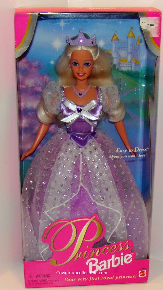 18404 Princess Barbie Mattel Easy To Dress 1997