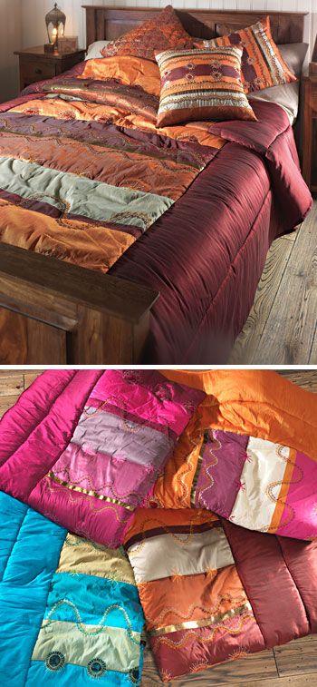 Khandala patchwork indian quilt