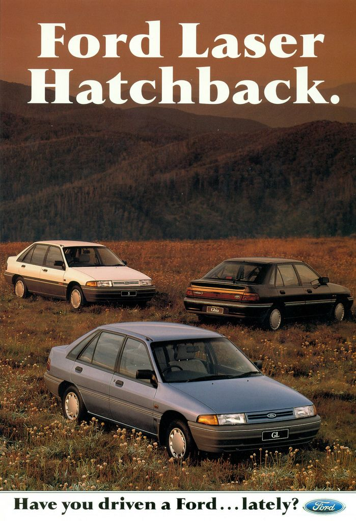 1990 Ford Laser Hatchback With Images Hatchback Australian
