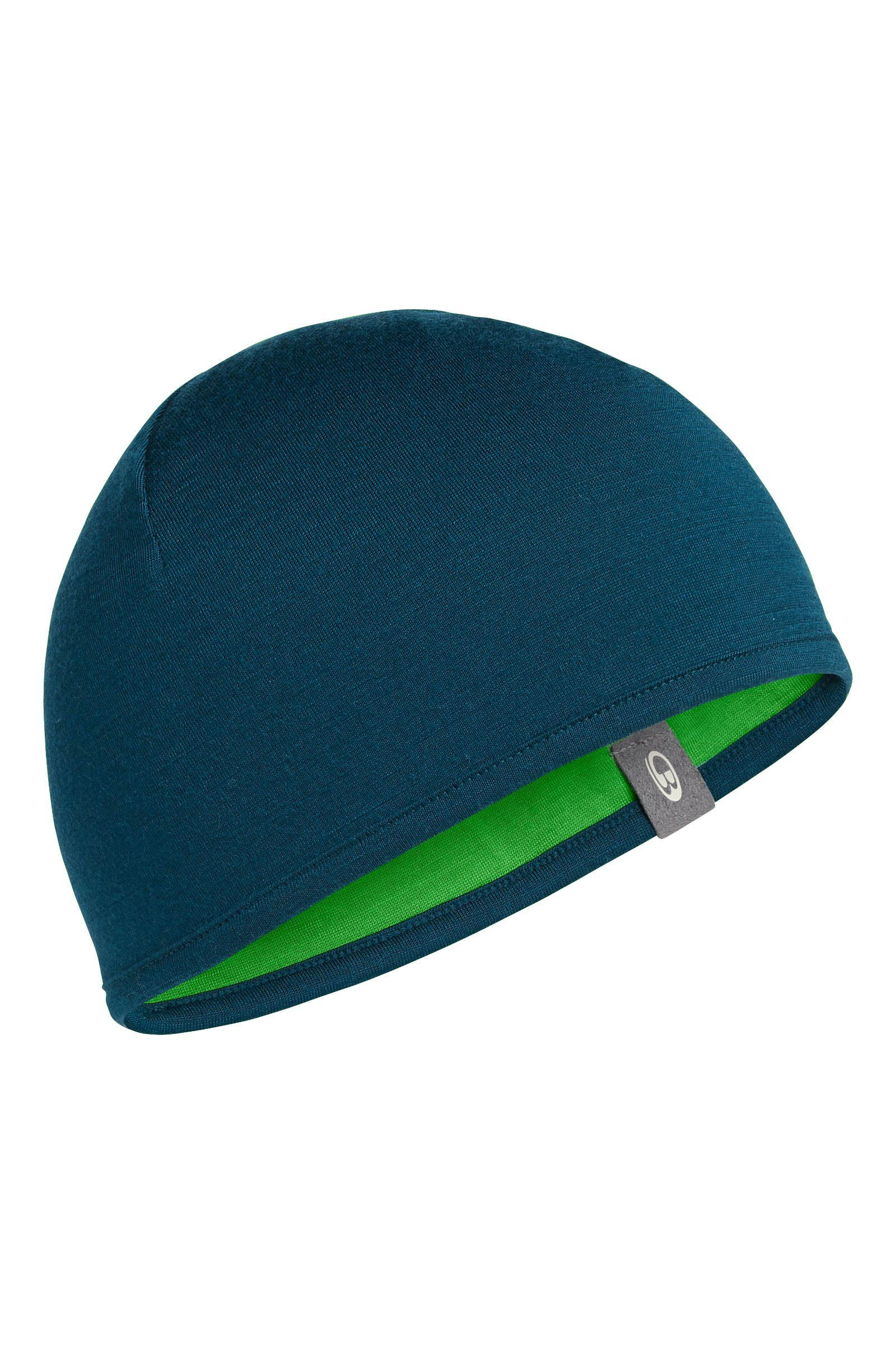 2966514b8 Icebreaker Pocket Hat, Night/Balsam, One Size. Double layer and reversible.