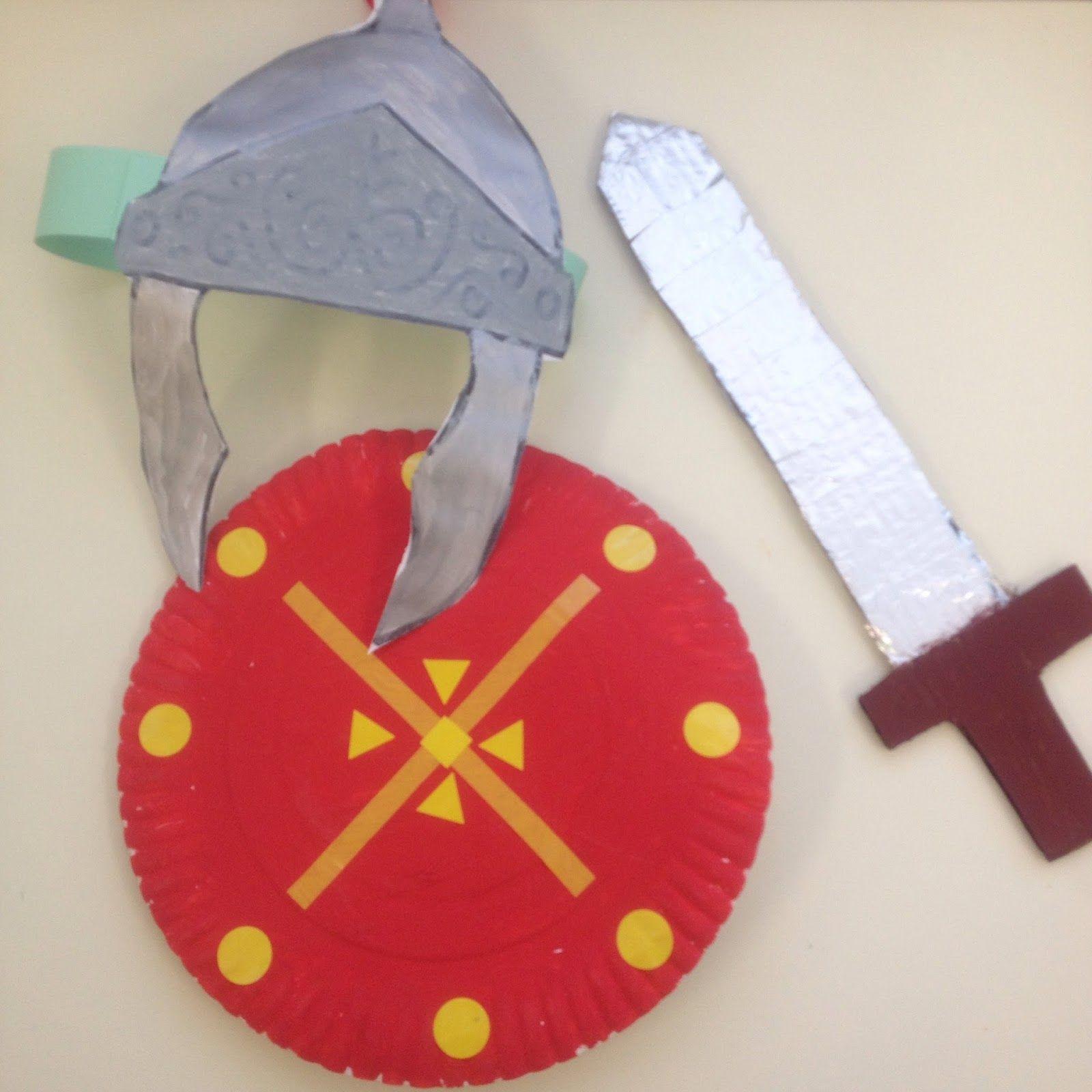Resultado de imagen de manualidades soldado romano | Roma ...