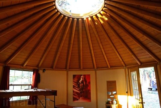 Freedom Yurt Cabins A Tiny Home For People Who Love Round Houses Round House Tiny House Tiny House Movement