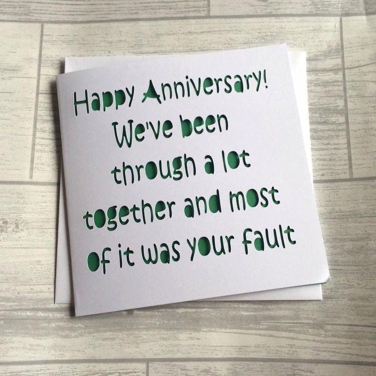 Anniversary Anniversary funny, Wedding anniversary