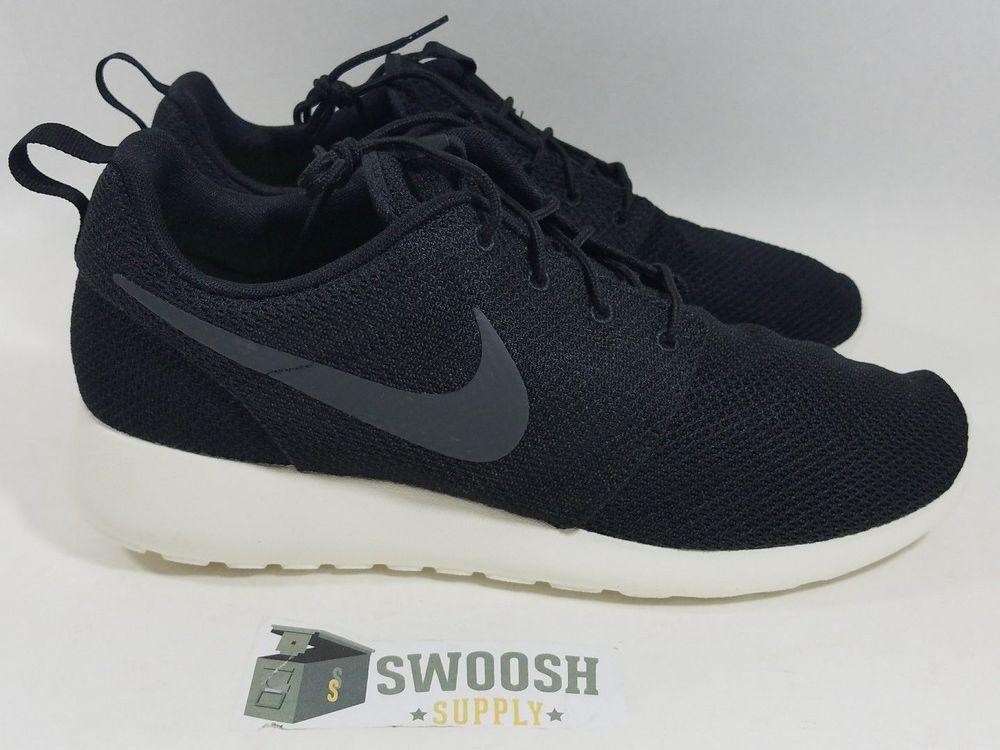 online retailer c8601 54f4f Men Shoes · NIKE ROSHE ONE BLACK SAIL ANTHRACITE WHITE 511881 010 Sizes New  10-13  Nike