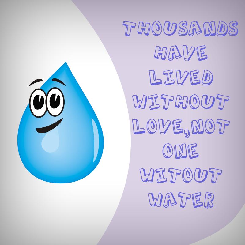 English Slogan Poster On Save Water Photoshop Tutorial Save Water Poster English Slogans Save Water