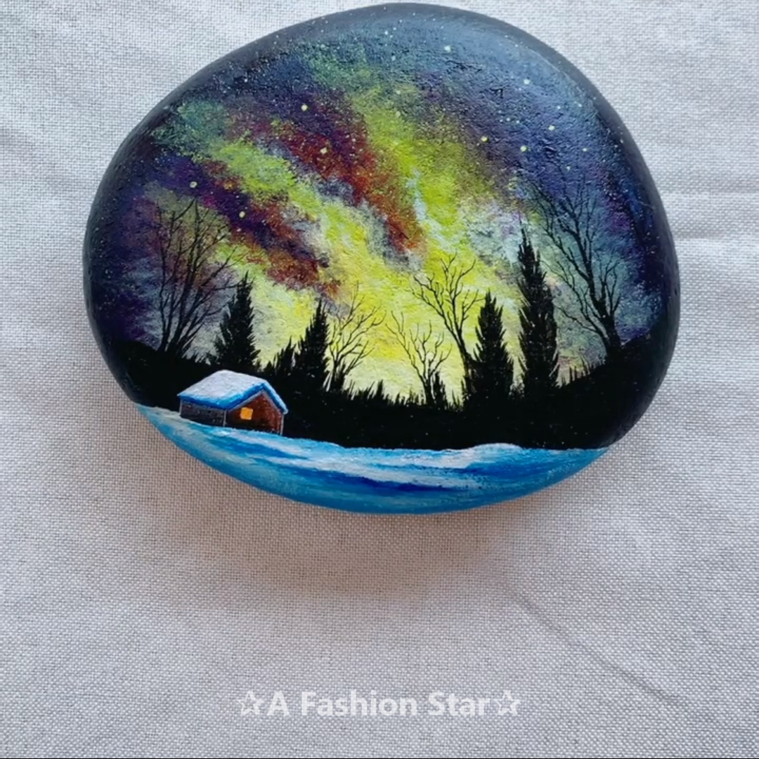 Photo of 7 Rock Painting Ideas For Home Decor – DIY Rock Art – Northern Lights