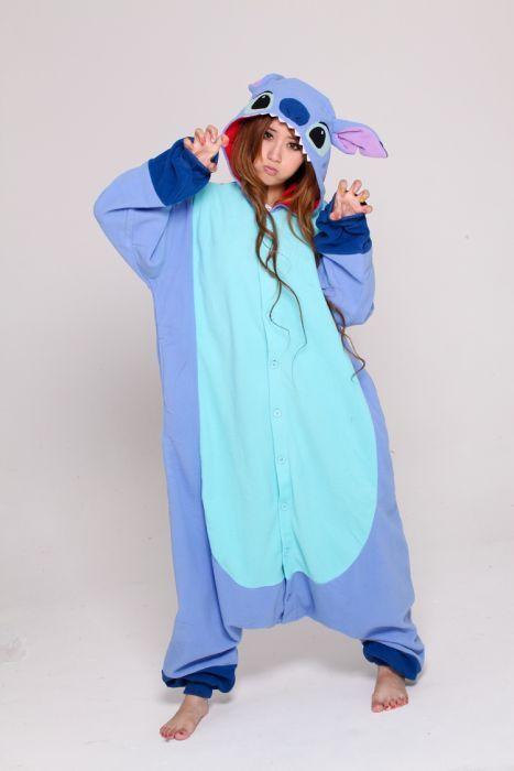 ... Kigurumi Pyjamas Sleepwear Sleepsuit For Unisex Adult S M L XL. Stitch  onesie disney 870331880