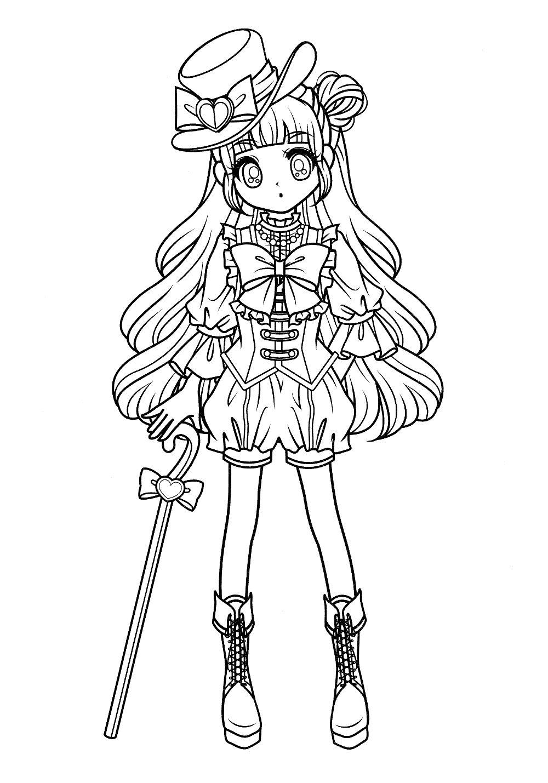 pin by mama mia on anime  u0026 shojo coloring book