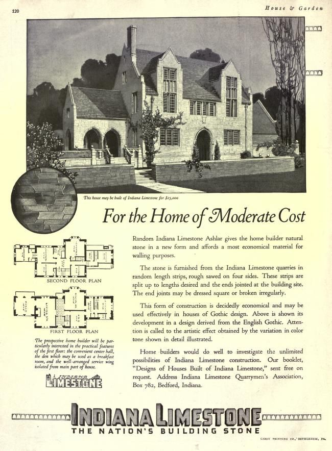 My moderate cost home house garden vintage home for Moderate house plans