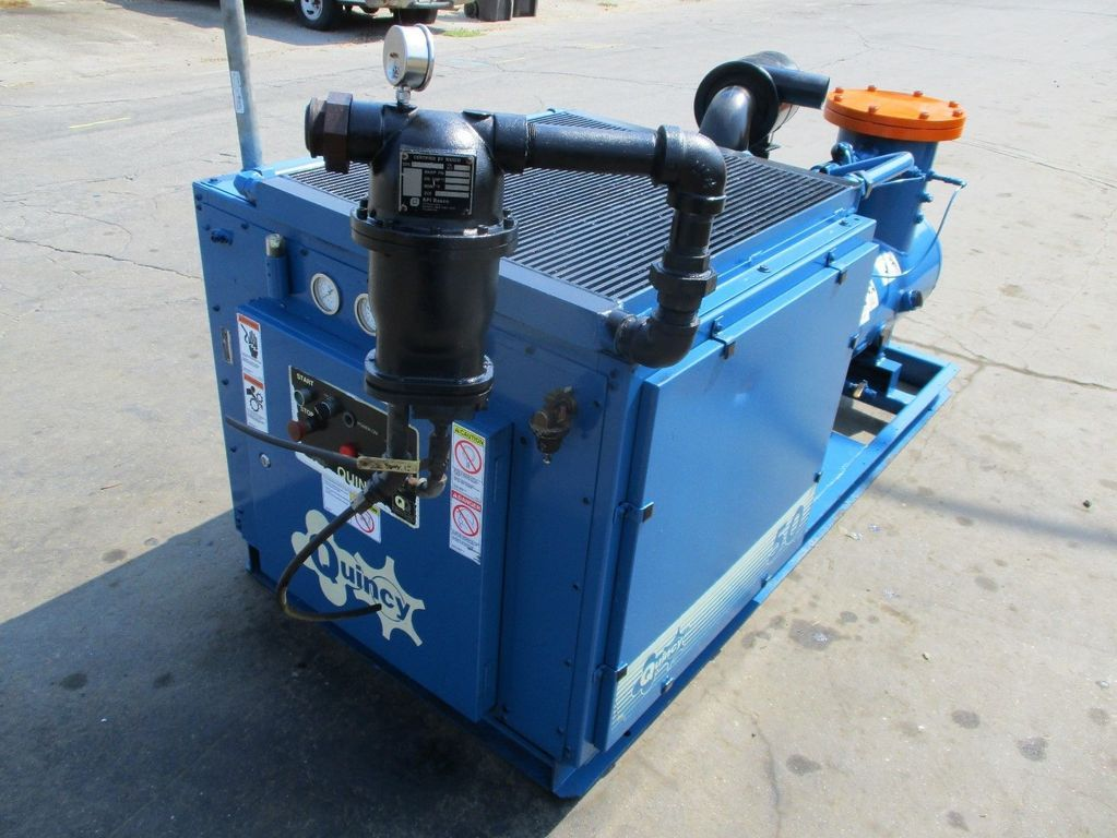 2000 quincy model qma50aca31j 50 hp rotary screw air