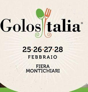 Golositalia: dove il cibo fa spettacolo dal 25 al 28 febbraio Montichiari (Bs) @golositalia