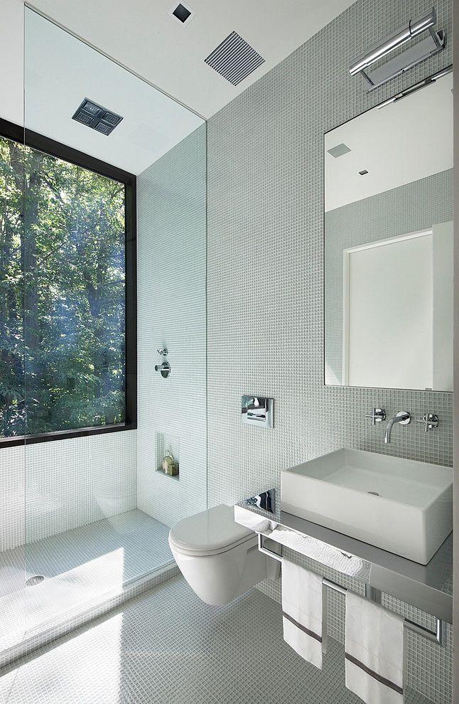 glazen douche voor de raam badkamerrenovaties slaapkamer badkamer inrichting badkamer inspiratie