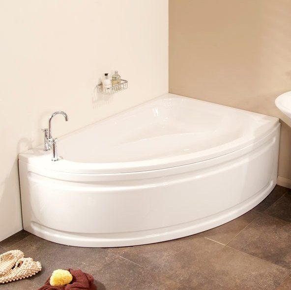 Corner Bathtubs When We Move Into A New Home Usually We Have Made Some Compromises Regarding Certain Spaces In It Small Bathtub Corner Bath Corner Bathtub