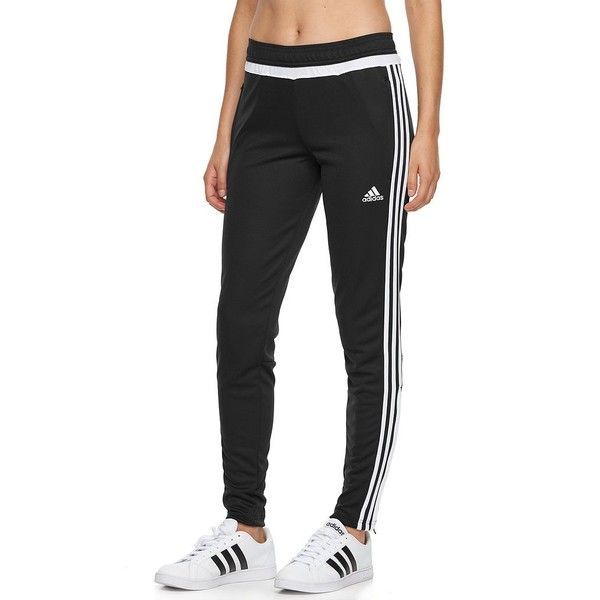 eacecbb8f8 Women's Adidas Tiro 17 climacool Soccer Pants ($45) ❤ liked on Polyvore  featuring black and adidas