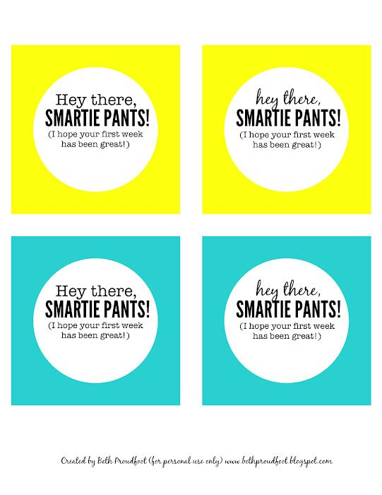 photo relating to Smartie Pants Printable called Pin upon Much too Amazing for Higher education: Again toward College or university
