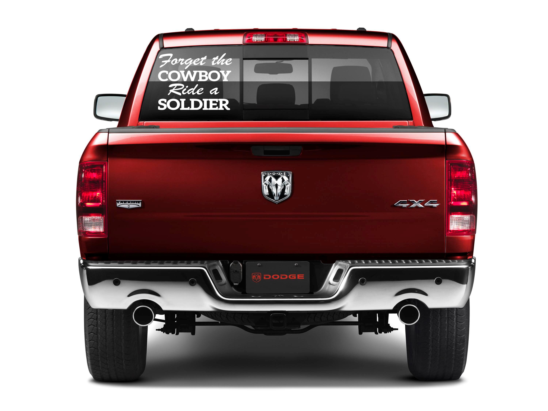 Cowboy Up JDM Car Sticker Decal 6 Racing Truck Wall Laptop Windshield
