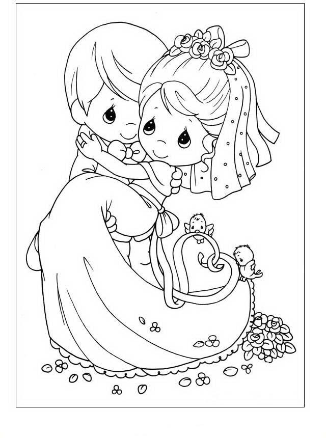 precious moments kleurplaten voor kinderen kleurplaat en