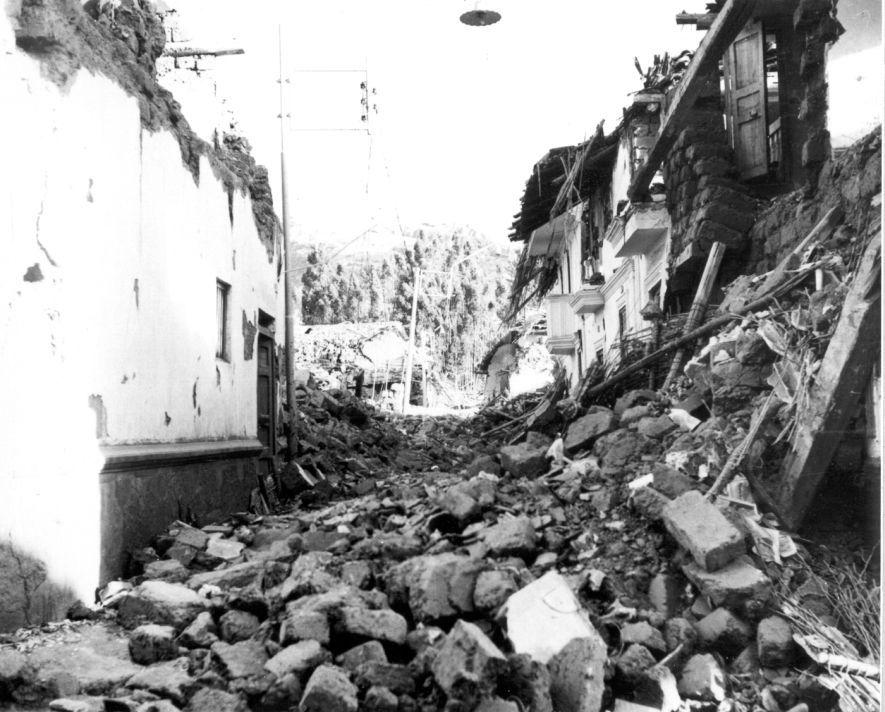 10 impactantes imágenes del terremoto de Áncash de 1970