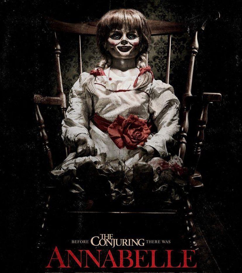 Filmmaker Johnrleonetti Annabelle 2014 Firstviewing Nowwatching Halloween Halloweenmovies Horror The Horror Movies Horror Movie Posters Movie Posters