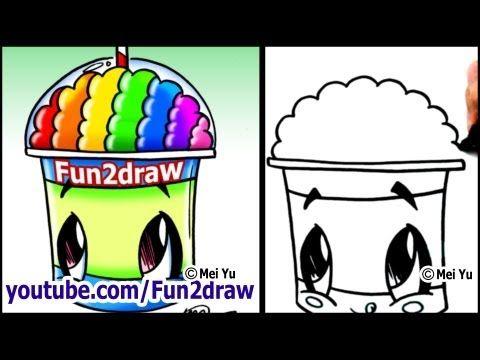 slushies coloring pages - photo#42