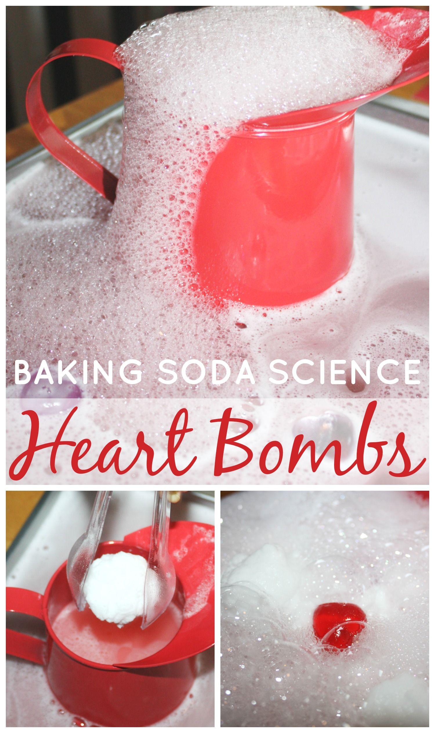 Hearts Baking Soda Science Valentines Activity