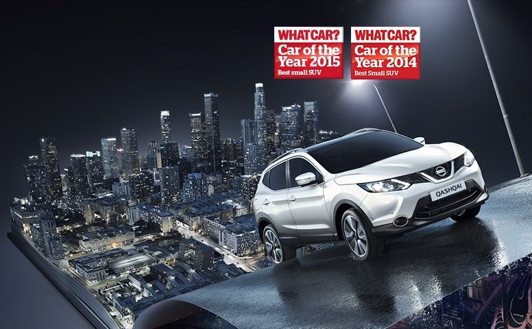 Nissan qashqai best small suv for the 2nd year
