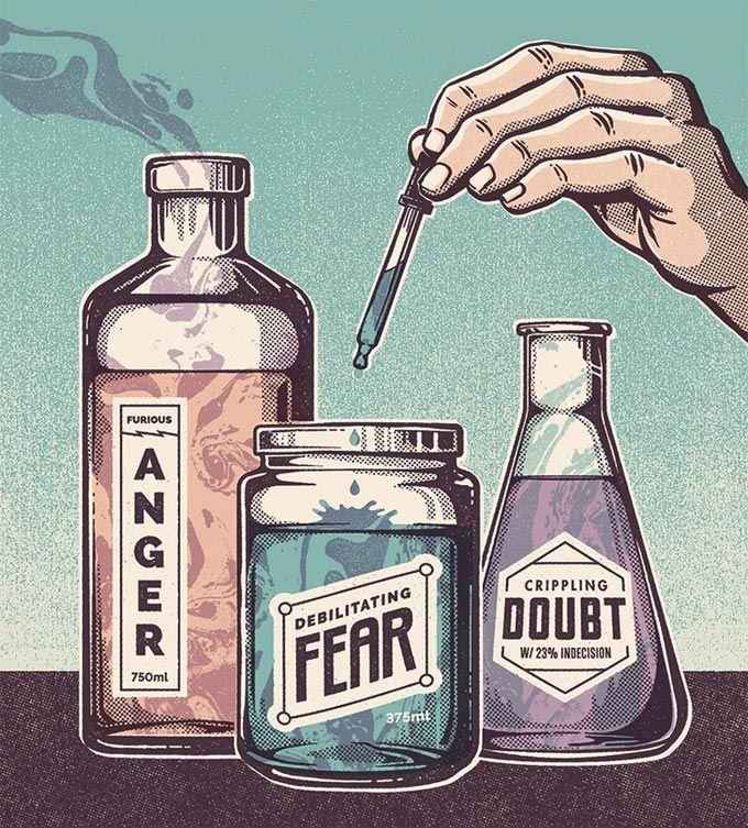 Andrew Fairclough illustrations - Boss Magazine