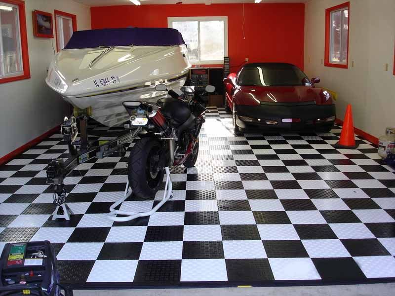 Garage Floor Tiles Home Projects Pinterest