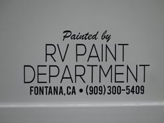 RV Paint Department (909) 300-5409 RV Collision Repair Calabasas - L.A. Co