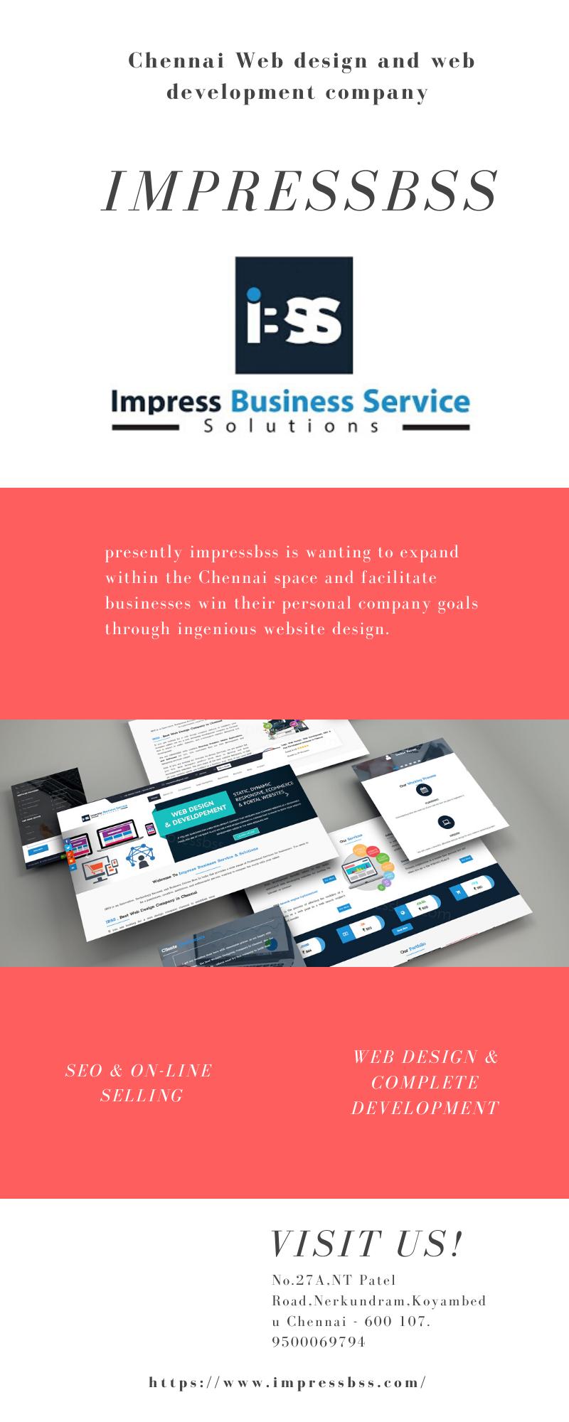 Chennai Web Design And Development Company Impressbss Web Development Design Web Design Company Web Design