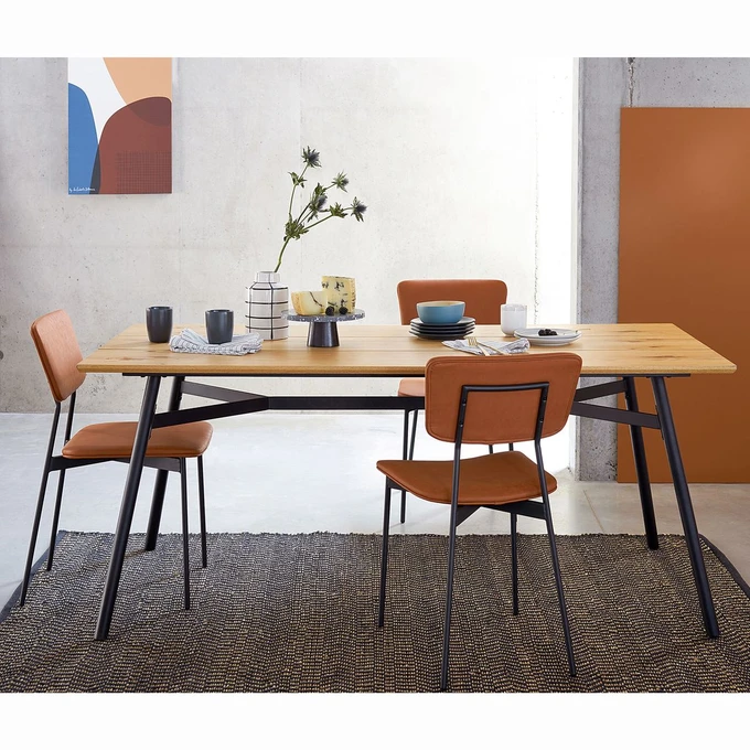 Table A Manger 6 A 8 Couverts Lora Table A Manger Table Salle A Manger Meuble Deco