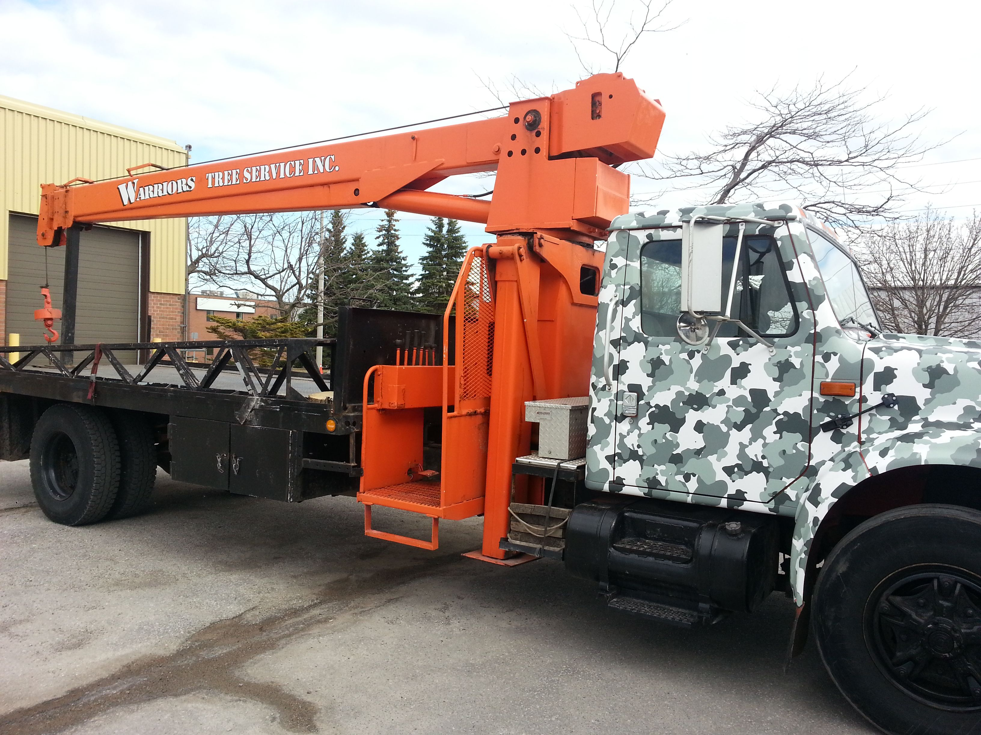 This Boom Truck Wrapped By Speedpro Imaging Oshawa Its All About Company Branding And