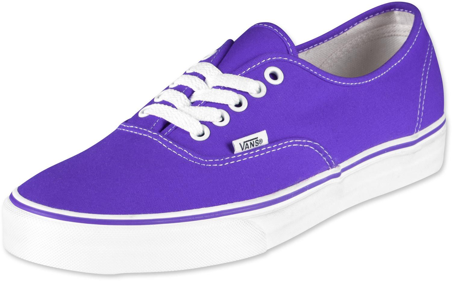 Vans Purple And White