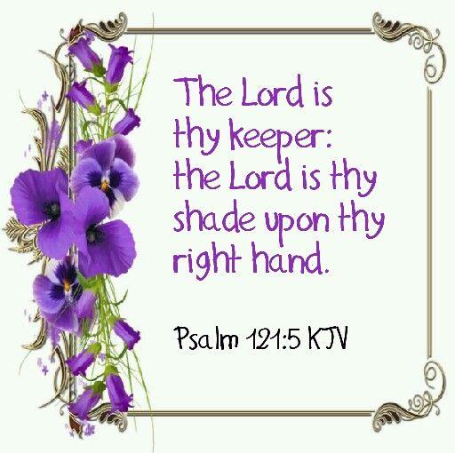 Psalm 121:5 KJV
