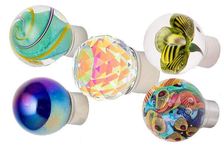Out Of The Blue Design Studio | Art Glass Decorative Hardware