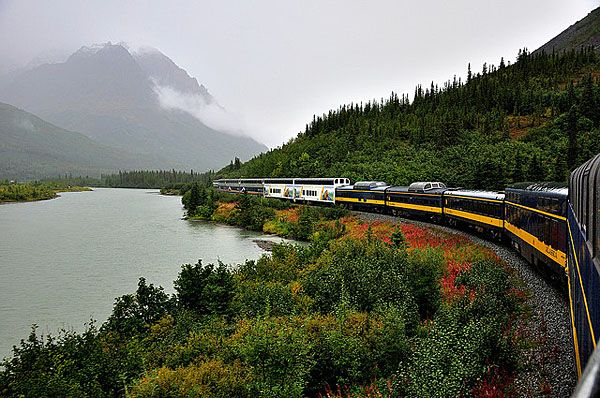 11 Sweet Train Trips In The U S Canada Scenic Train Rides