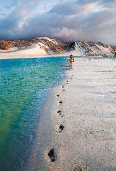 Ilha de Socotra, Yemen.