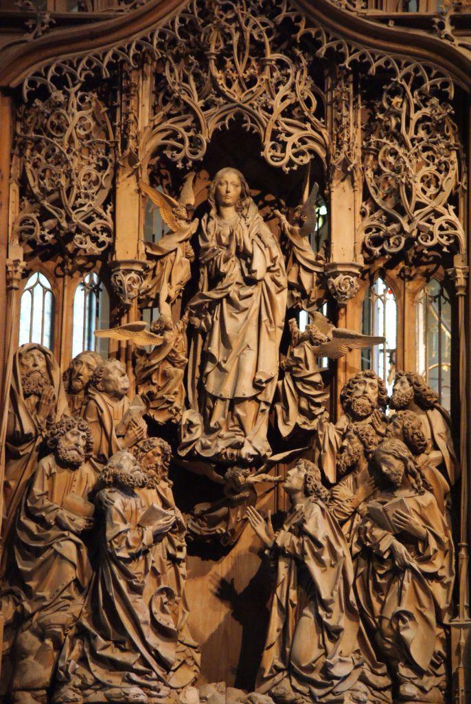 58fc714781b384ddba4285b43b4ee48b - Western World / Europe - Gothic period (12th–15th centuries) History of Wood Carving