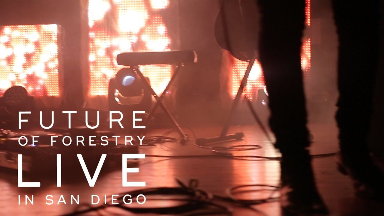 Future of Forestry O Come Let Us Adore Him (LIVE San