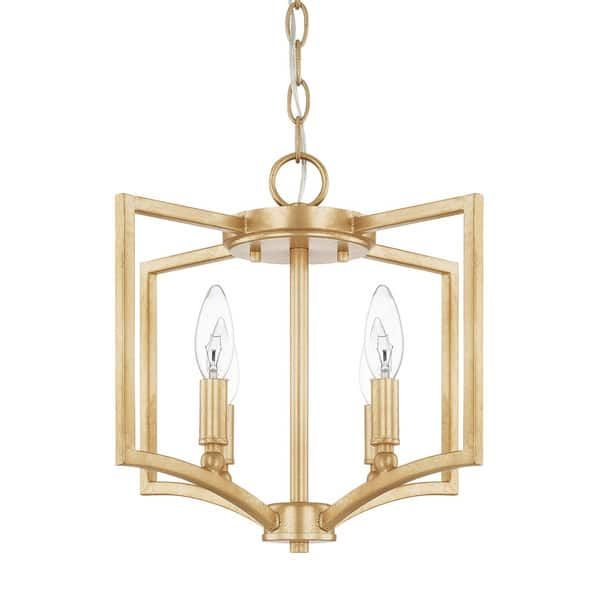 Capital lighting donny osmond regan collection 4 light capital gold pendant flush mount 2036 powder room pinterest donny osmond bed furniture and