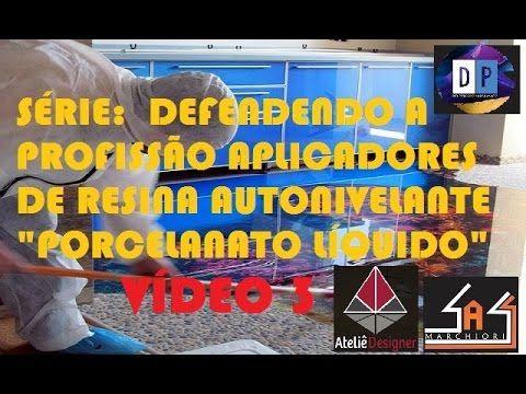 """VÍDEO 3 - Defendendo a profissão APLICADORES DE RESINA AUTONIVELANTE """"PO..."""