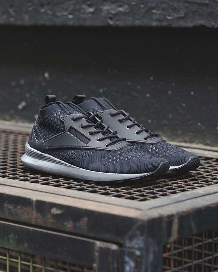 e43ac602 Reebok Zoku Runner Ultraknit: Black/Alloy | sho ez | Sneakers, Shoes ...