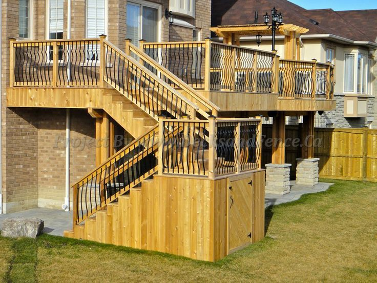 Storage Under Deck Stairs Http Pinterest Com Pin 261701428319438722 Deck Stairs Building A Deck Deck With Pergola