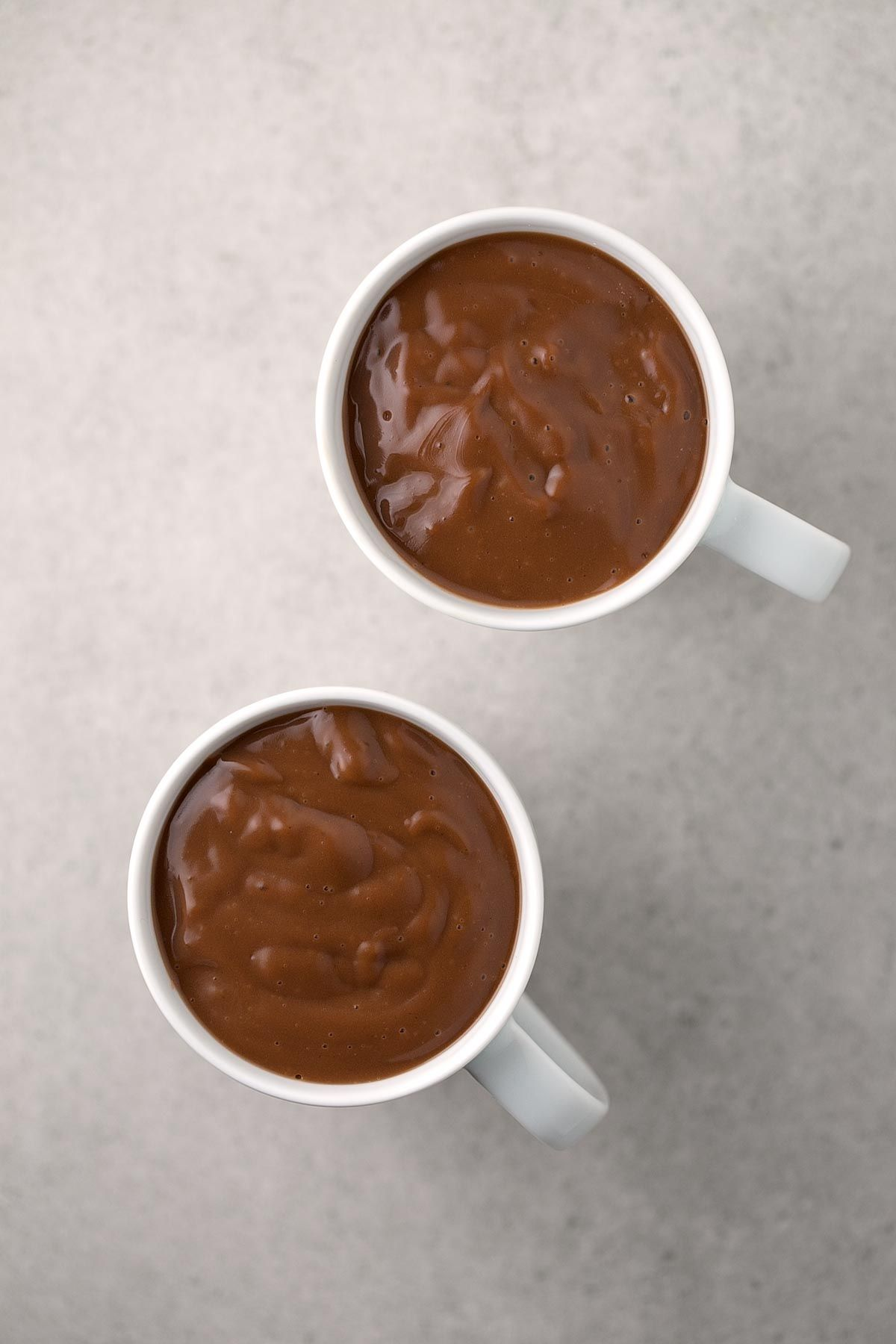 Chocolate A La Taza Vegano Receta Chocolate A La Taza