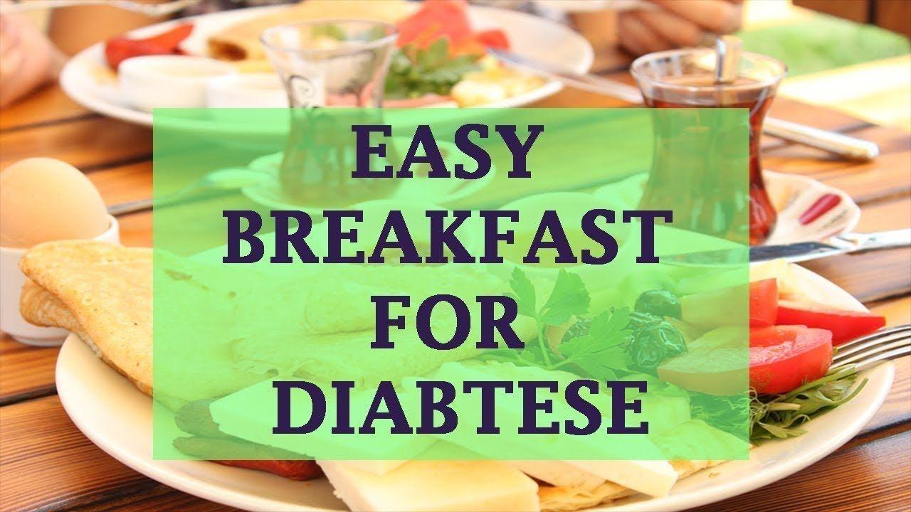 type 2 diabetic diet breakfast