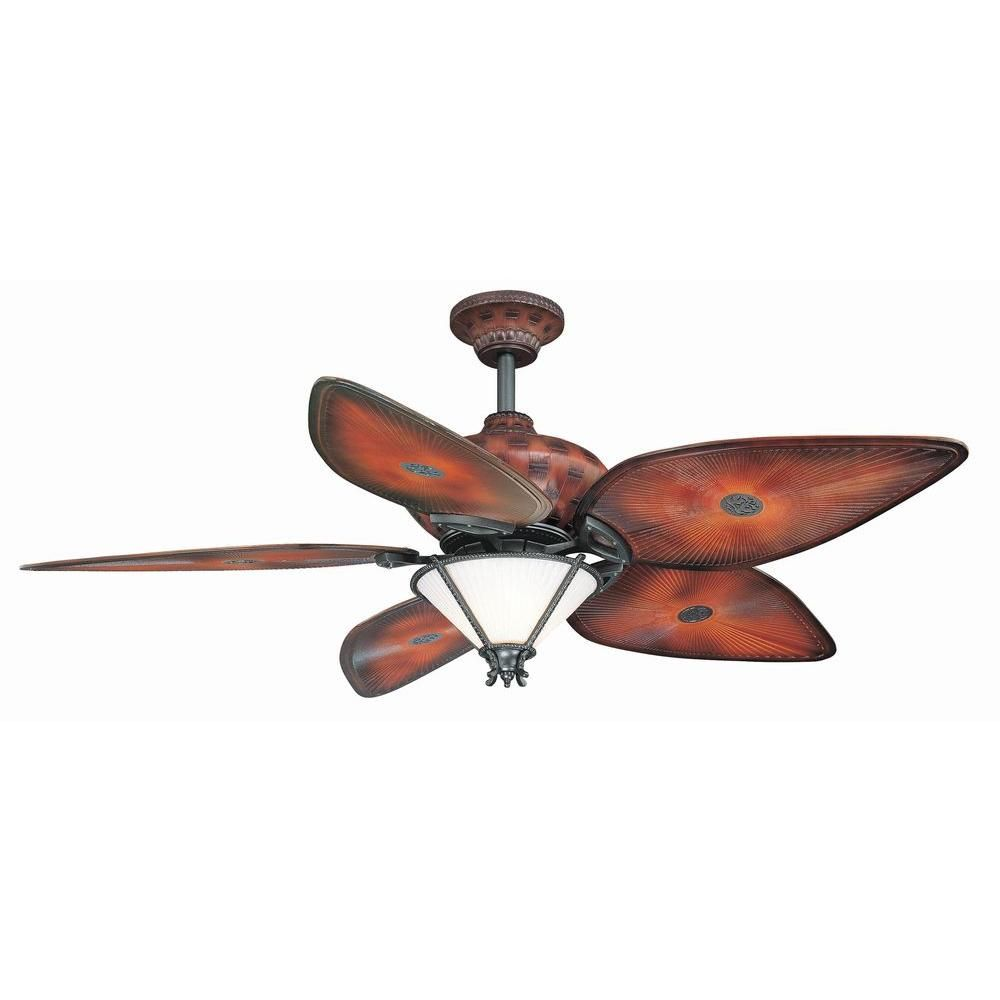 Hampton bay san lucas 56 in indooroutdoor natural iron ceiling fan indooroutdoor natural iron ceiling fan with light kit and remote the home depot aloadofball Image collections